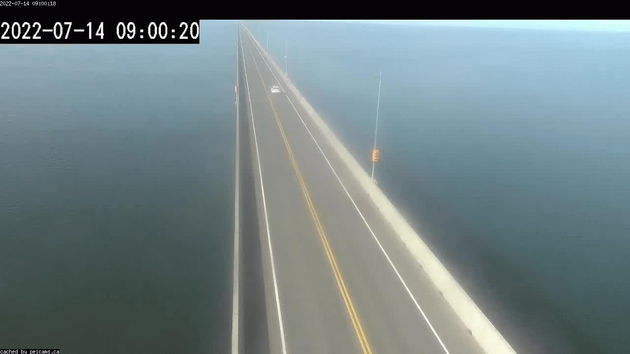 Web Cam image of Confederation Bridge