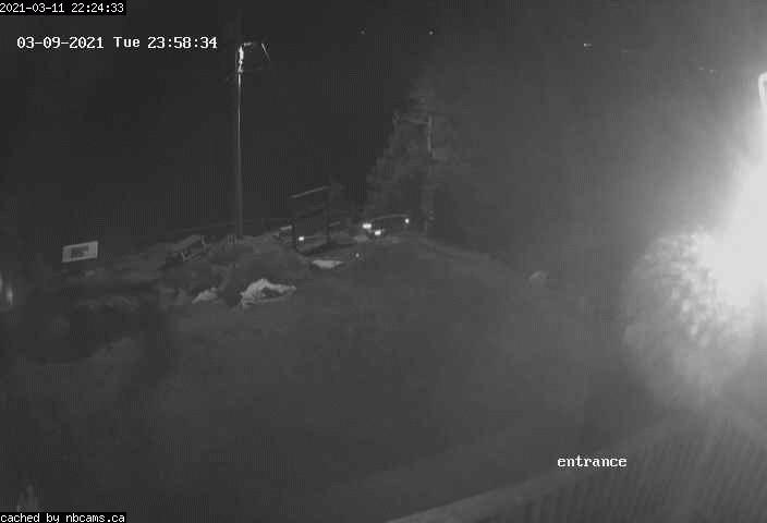 Web Cam image of Grand Manan (Swallowtail Lightstation Entrance)