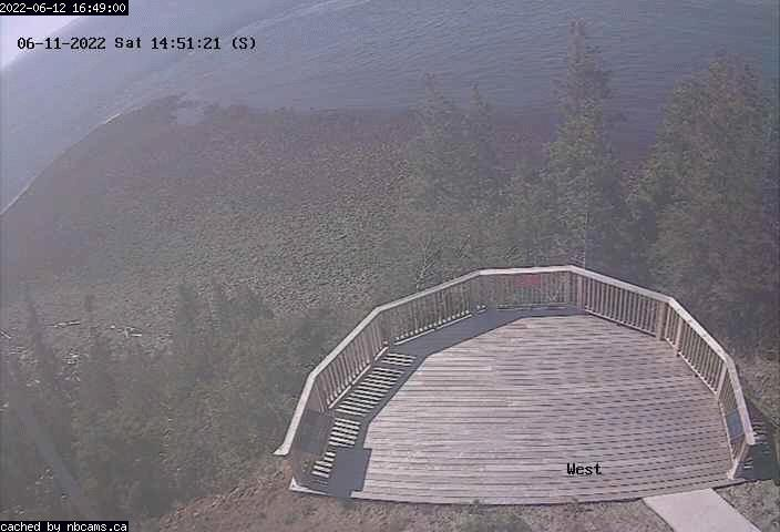 Web Cam image of Grand Manan (Long Eddy Point West)
