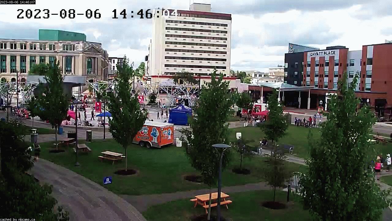 Web Cam image of Moncton (Avenir Centre)