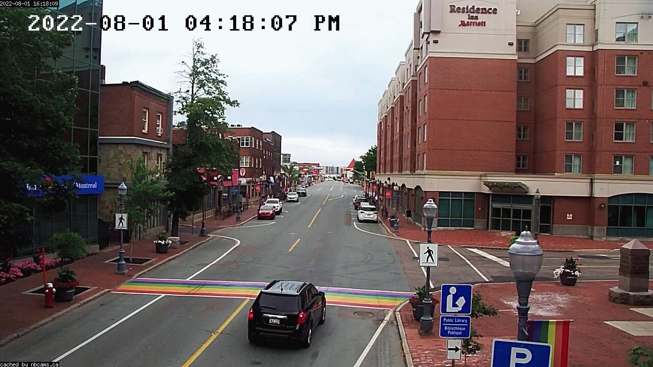Web Cam image of Moncton (Main Street East)