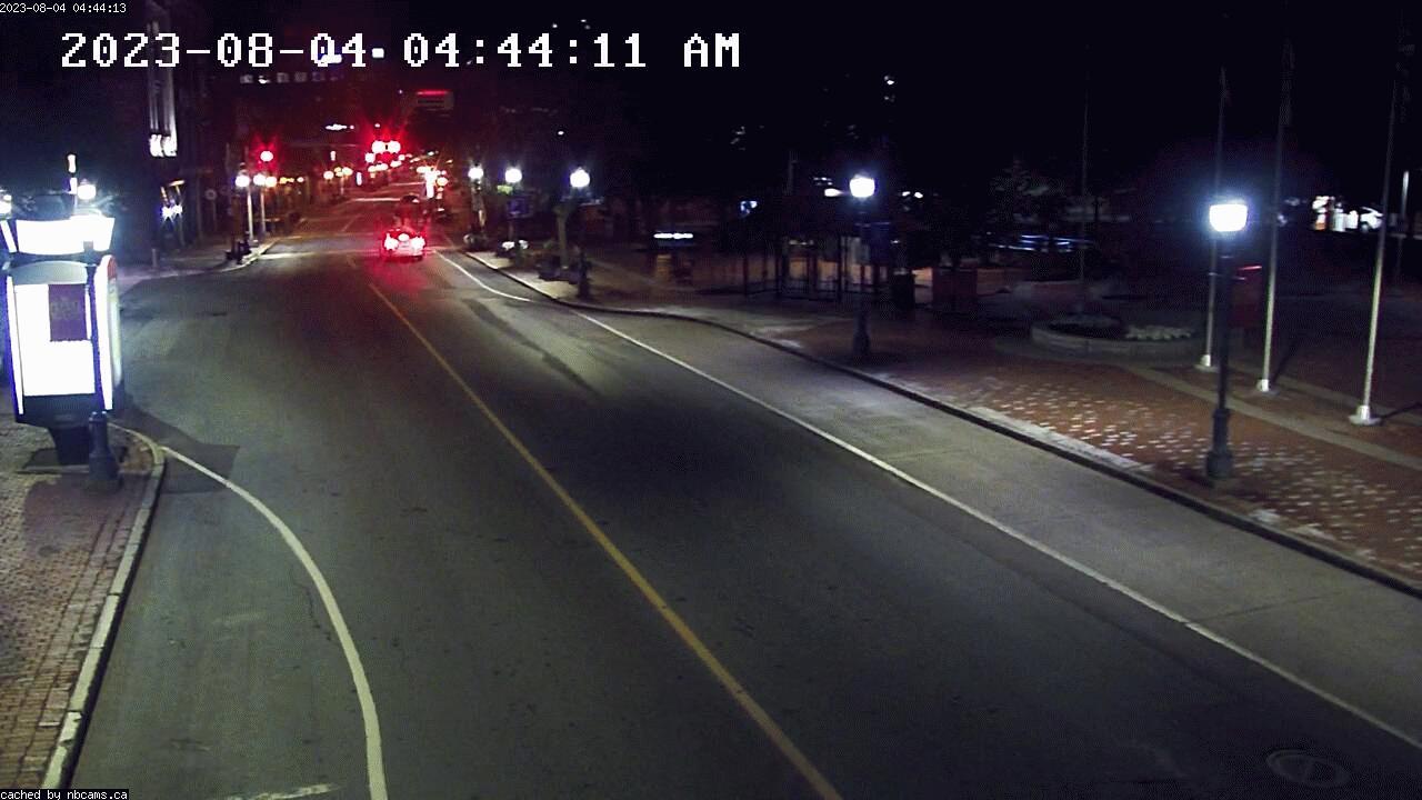 Web Cam image of Moncton (Main Street West)