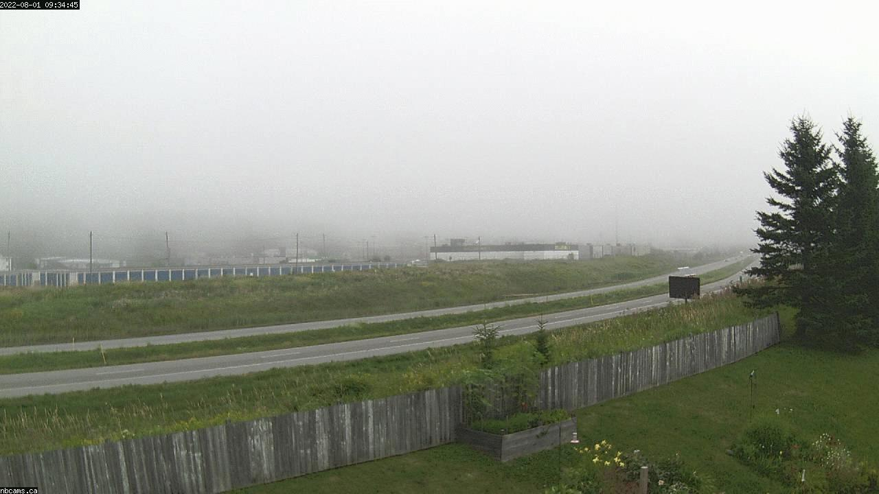 Outdoor web cam in Saint John, New Brunswick - Camera # 2 (Showing a view of NB Highway 1)